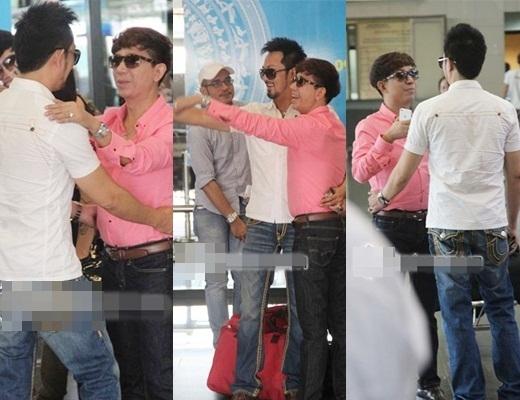 Hàng loạt hành động thân thiết của Long Nhật và bạn trai được chụp lại từ lúc cả hai gặp nhau tại sân bay... - Tin sao Viet - Tin tuc sao Viet - Scandal sao Viet - Tin tuc cua Sao - Tin cua Sao