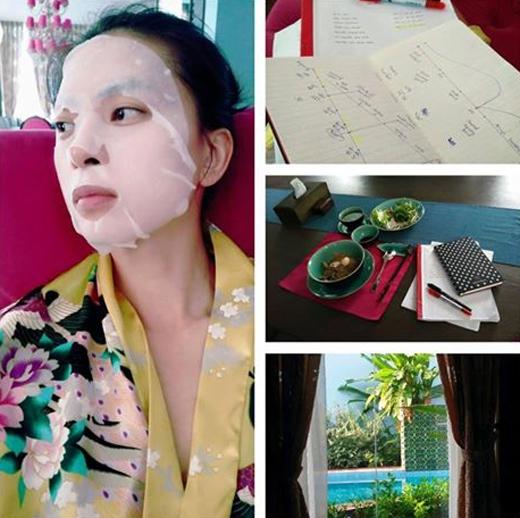 'Đả nữ của màn ảnh Việt' Ngô Thanh Vân là một phụ nữ cực kì bận rộn với những dự án của mình. Cô chia sẻ trên trang cá nhân rằng, mặc dù hôm nay là chủ nhật nhưng cô vẫn phải làm việc chăm chỉ hơn nữa.