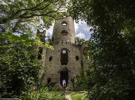 Nằm ẩn sau những lùm cây rậm rạp, pháo đài Racton Folly rất khó để nhìn thấy. Được xây vào thế kỉ 18 gần vùng Walderton nhằm theo dõi những con tàu tiếp cận vùng Solent vào năm 1766, pháo đài cao 24 mét này đã bị bỏ hoang hơn một thế kỉ trước.