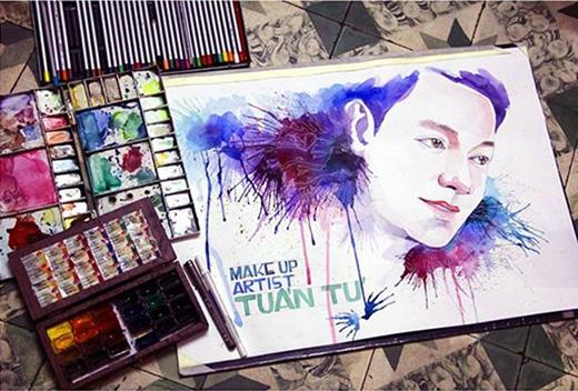 Yang nói đùa rằng rất sợ vẽ người đẹp vì có thể vẽ... đẹp hơn người thật.