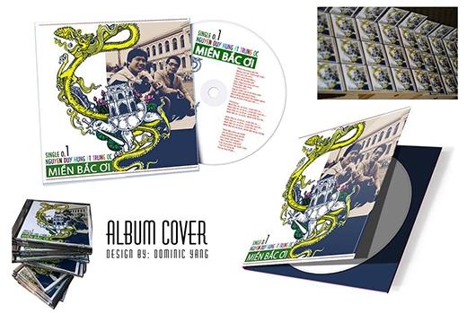 Yang thiết kế bìa album cover 'Miền Bắc Ơi' của nhạc sĩ Nguyễn Duy Hùng.
