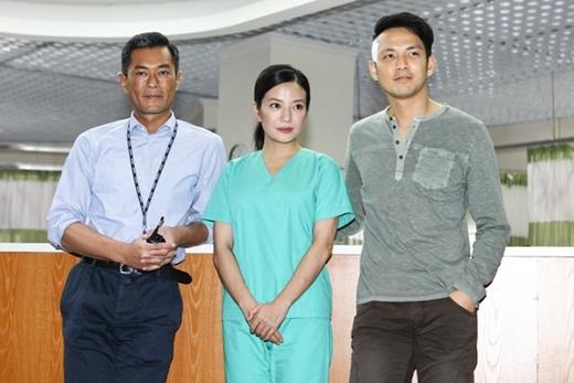 Triệu Vycùng Cổ Thiên Lạc, Chung Hán Lương trong dự án phim mới.