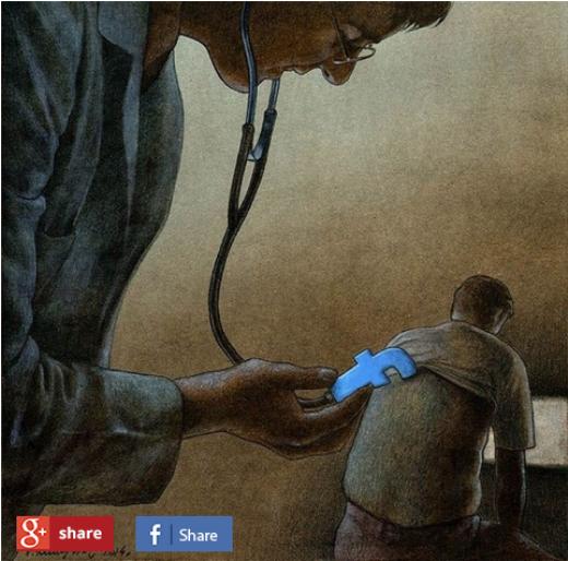 Nhiều người vẫn lầm tưởng rằng facebook có thể chữa lành vết thương của người khác...