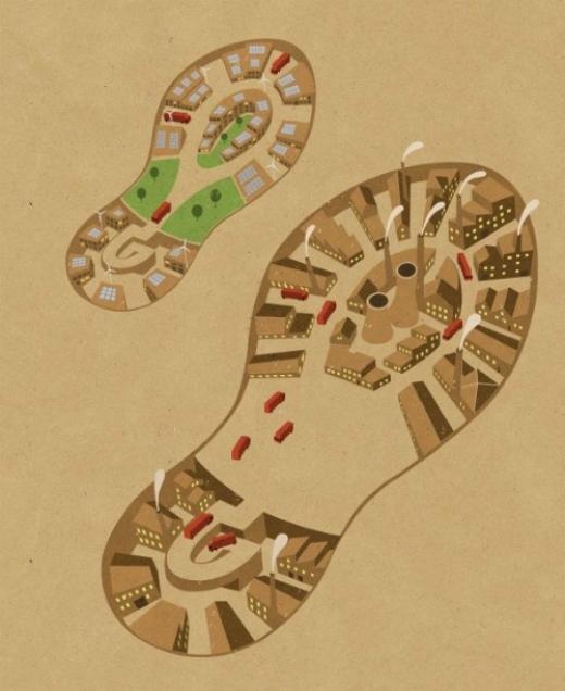 Ở đâu có dấu chân con người, ở đó sẽ mọc lên những khu đô thị, khu công nghiệp.