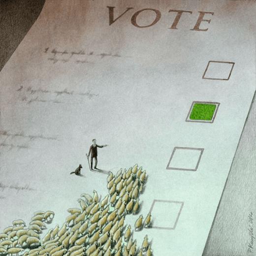 Người ta dễ dàng bị sai khiến đến lựa chọn nào mang đến lợi ích cho mình.