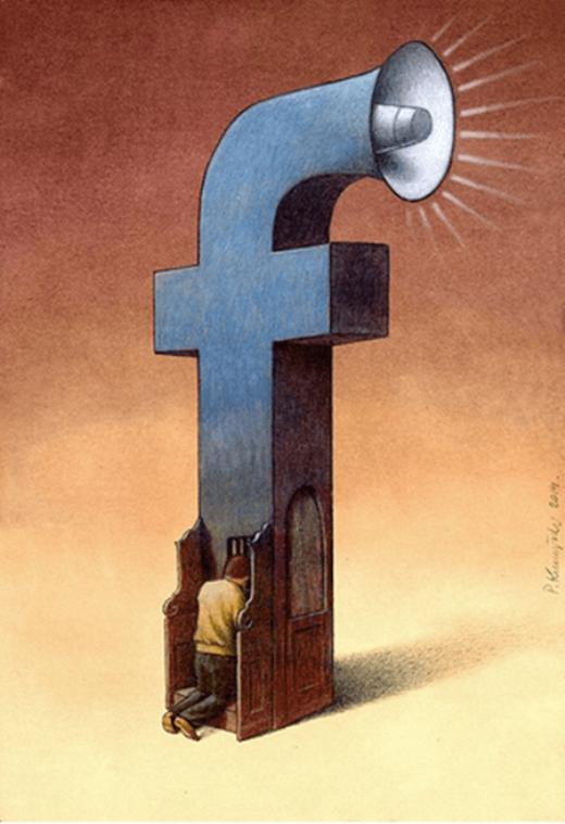 Đôi lúc, những điều riêng tư của cá nhân mỗi người lại được phát tán rộng rãi trên facebook