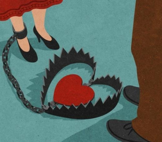 Tình yêu có lúc lại khiến bạn rơi vào một cái bẫy.
