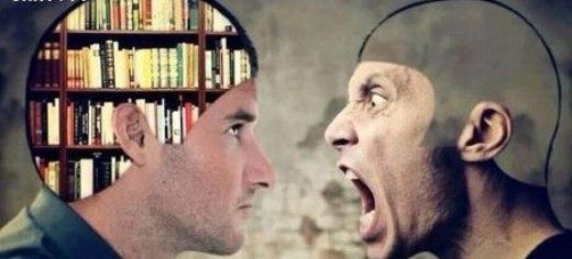 Người rỗng tuếch thích la lối, người hiểu biết thường suy nghĩ.