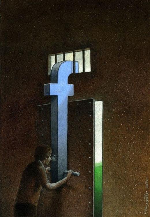Nhiều người chọn cách nhìn nhận thế giới thông qua facebook thay vì bước ra ngoài xã hội