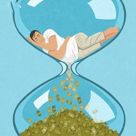 Thời gian là tiền bạc, những lúc bạn lười biếng, bạn đã lãng phí cả khối tiền