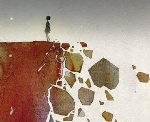 Trong cuộc sống, bạn chỉ có thể tiến về phía trước.