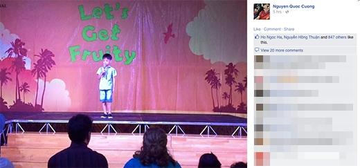Hồ Ngọc Hà like bức hình Cường đô la chia sẻ Subeo đang đứng trên sân khấu. - Tin sao Viet - Tin tuc sao Viet - Scandal sao Viet - Tin tuc cua Sao - Tin cua Sao