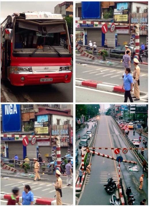 Vụ tai nạn khiến nhiều người đi đường hoảng hốt