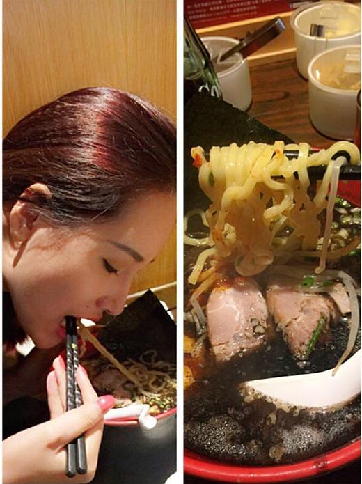 Hình ảnh Mai Phương Thúy thưởng thức món ăn trong chuyến du lịch Hồng Kông thời gian gần đây. - Tin sao Viet - Tin tuc sao Viet - Scandal sao Viet - Tin tuc cua Sao - Tin cua Sao