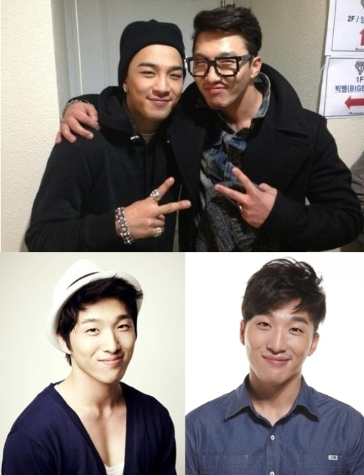 """Cùng sở hữu đôi mắt hí và nụ cười """"tỏa nắng"""", anh trai Taeyang gây ấn tượng khi đến ủng hộ concert Big Bang, khiến các fan bị """"say nắng"""" bởi vẻ ngoài điển trai. Các fan cũng không khỏi ganh tị với sự gắn bó của hai anh em."""