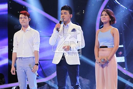 Nhận được số lượt bình chọn thấp nhất, Nguyễn Duy và Hà Nhi rơi vào top nguy hiểm và phải chuẩn bị cho phần thi sing-off của mình.