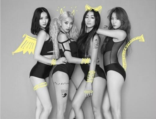 Bora đăng tải ảnh teaser cực gợi cảm của Sistar trong đợt trở lại sắp tới.