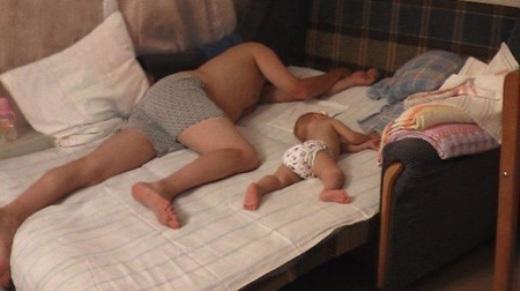 Giống nhau cả trong giấc ngủ