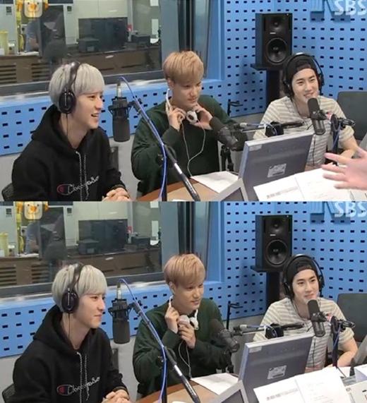 Ba thành viên tham gia chương trình radio vào ngày 15/6.