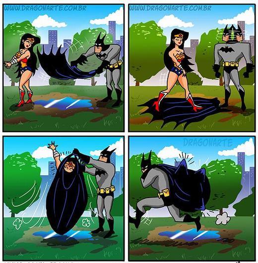 Batman đã lừa một cô gái như thế nào?