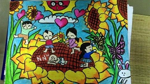 Những bức tranh do chính tay Nam vẽ và sẽ được bán đấu giá gây quỹ từ thiện. - Tin sao Viet - Tin tuc sao Viet - Scandal sao Viet - Tin tuc cua Sao - Tin cua Sao