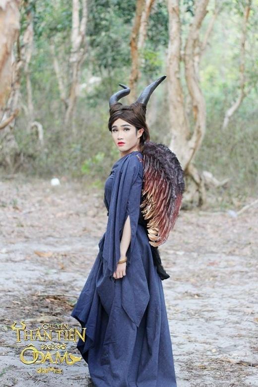 Huỳnh Lập hóa thân Maleficent trong Tiên hắc ám