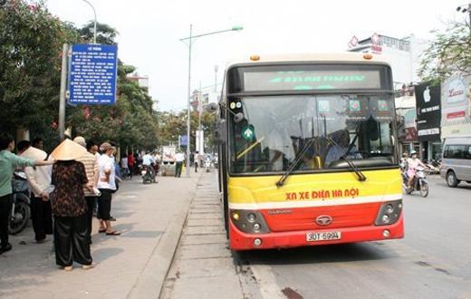 Những chiếc xe buýt này hàng ngày vẫn hoạt động bình thường
