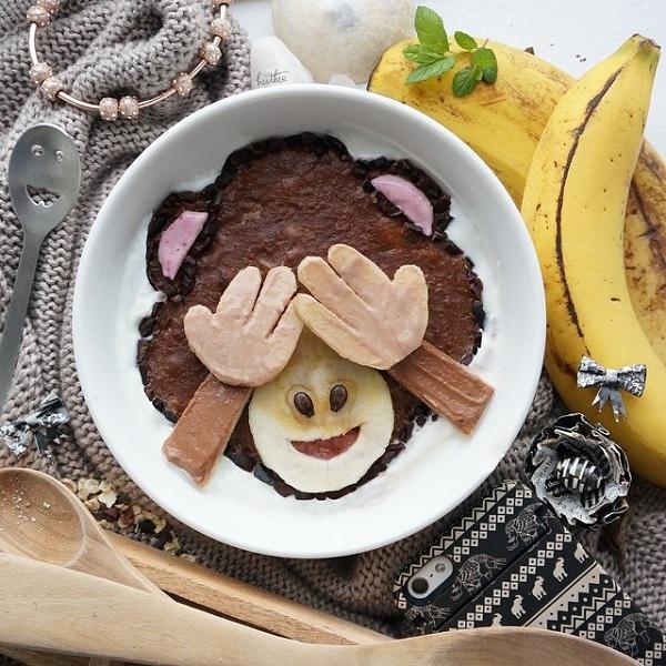 Bạn có nỡ ăn chú khỉ siêu nhắng này không?