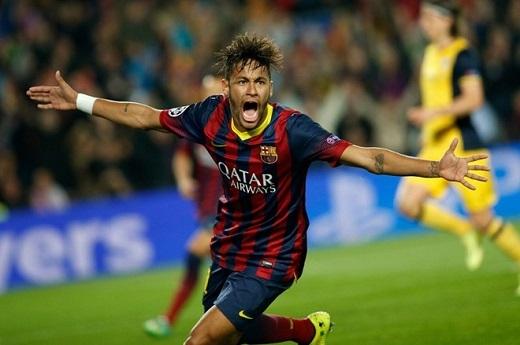 Neymar (31 triệu USD): Neymar cùng Lionel Messi và Luis Suarez tạo nên bộ ba tấn công ghi bàn nhiều nhất trong một mùa giải. Họ cùng nhau làm tung lưới đối phương 122 lần, trong đó Neymar có 42 pha lập công cho gã khổng lồ xứ Catalan. So với nhiều ngôi sao hàng đầu trên thế giới, tiền đạo người Brazil không nhận mức lương và thưởng quá cao khi bỏ túi 14 triệu USD ở Barcelona. Tuy nhiên, anh kiếm nhiều từ việc tham gia quảng cáo. Hợp tác với Red Bull, Panasonic, Unilever, Volkswagen, Konami, Beats by Dre và Nike giúp tiền đạo người Brazil bỏ túi 17 triệu USD năm 2015.