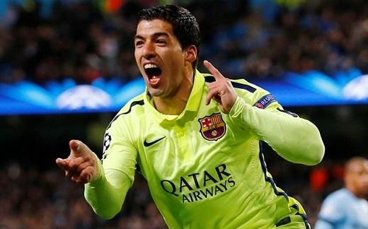Luis Suarez (21 triệu USD): Tiền đạo người Uruguay có mùa giải thành công trong màu áo Barcelona. Anh góp phần quan trọng giúp 'gã khổng lồ xứ Catalan' đoạt 3 danh hiệu gồm cúp nhà vua, chức vô địch La Liga và danh hiệu Champions League. Anh được Barcelona trả 16,5 triệu USD. Ngoài ra, Luis Suarez thu về 4,5 triệu USD từ các hợp đồng quảng cáo. Cựu chân sút Liverpool hiện là gương mặt đại diện cho Pepsi.
