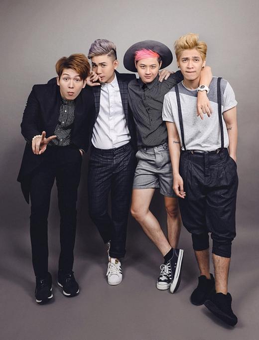 Thanh Duy rủ Kelvin Khánh, Đại Nhân và Tronnie làm nhóm EXO - Tin sao Viet - Tin tuc sao Viet - Scandal sao Viet - Tin tuc cua Sao - Tin cua Sao