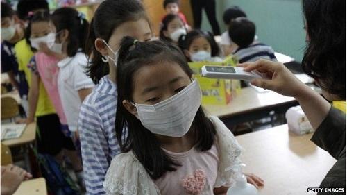Virus MERS đã khiến nhiều trường học ở Hàn Quốc phải đóng cửa