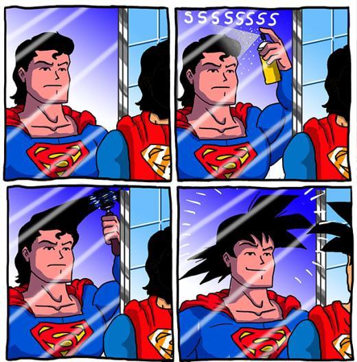 Bí quyết để Superman thành Son Goku