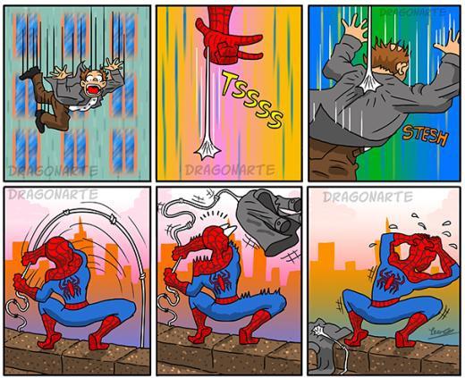 Lỗi lầm thuộc về Spider Man!
