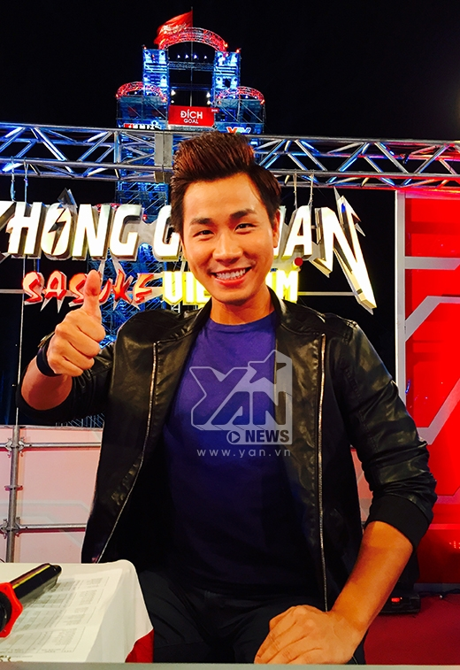 Nguyên Khang làm MC cho một gameshow thể thao. - Tin sao Viet - Tin tuc sao Viet - Scandal sao Viet - Tin tuc cua Sao - Tin cua Sao