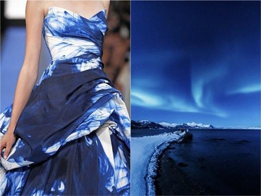 Sắc xanh trời của những vùng cực.