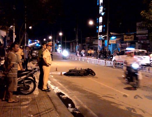 Lực lượng chức năng có mặt làm rõ nguyên nhân vụ tai nạn