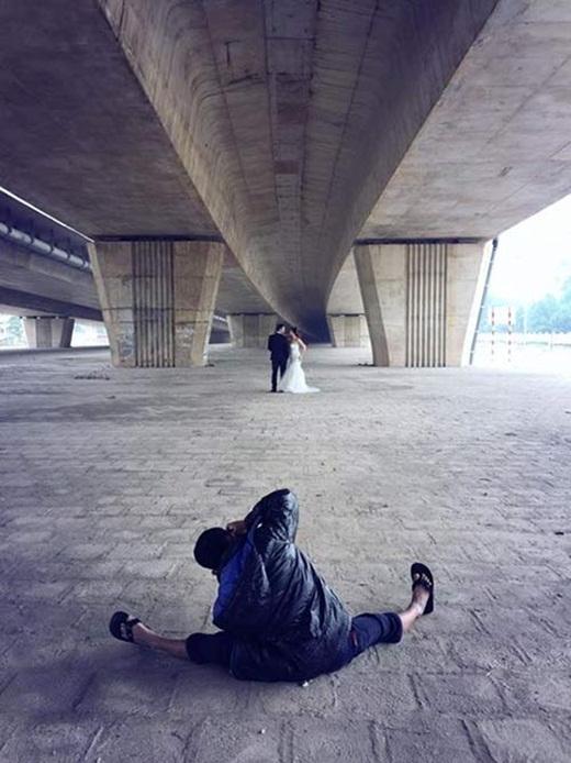 Khả năng xoạc chân không thua kém các diễn viên múa.