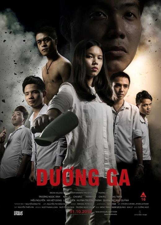 """""""Hương Ga"""" với sự tham gia của những """"diễn viên bất đắc dĩ"""" của tập thể lớp D1302M và """"chuyển thể"""" thành tên """"Dương Ga""""."""