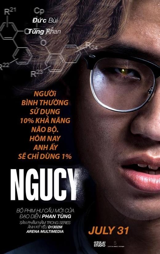 """Bộ phim điện ảnh nổi tiếng """"Lucy"""" được các bạn hài hước chế lại thành """"Ngucy""""."""
