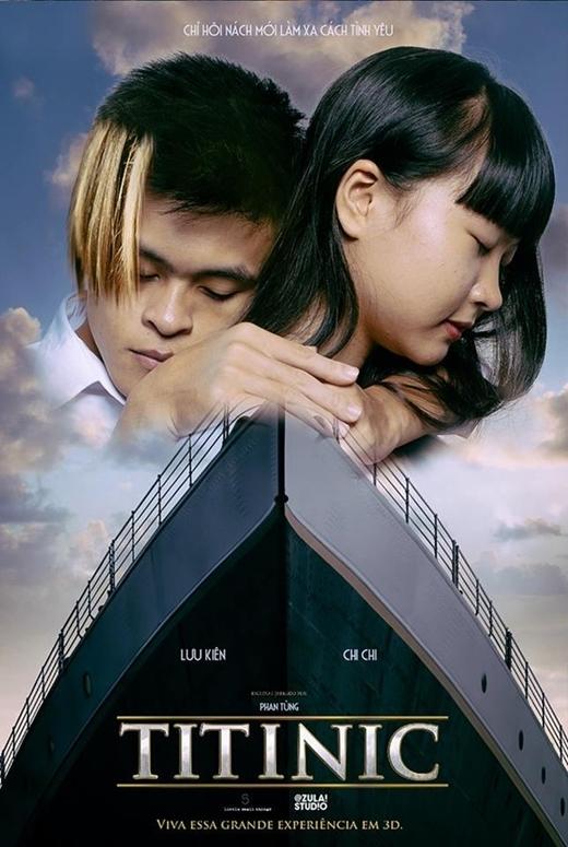 """Bộ phim """"đình đám mọi thế kỷ – Titanic"""" cũng được các bạn trẻ đổi tên thành """"Titinic""""."""