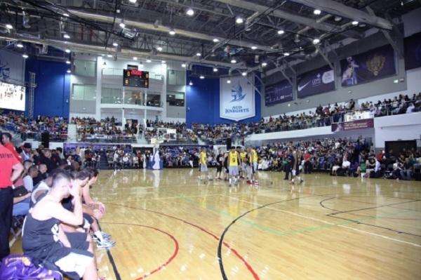 Sân bóng rổ đạt chuẩn và 'sang chảnh' của trường.