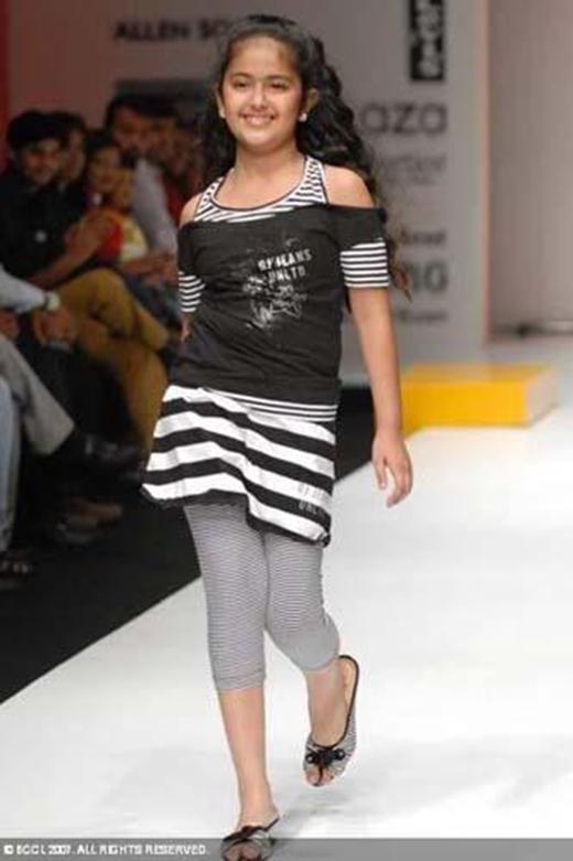 Avika Gor trở thành người mẫu nhí xuất sắc khi còn bé.