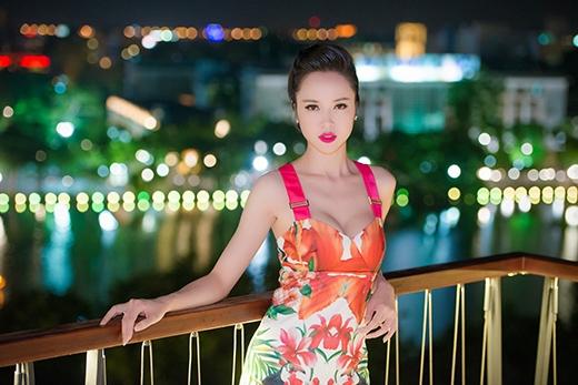 Người đẹp Vũ Ngọc Anh cũng có mặt trong sự kiện tối qua cùng với Kỳ Duyên - Tin sao Viet - Tin tuc sao Viet - Scandal sao Viet - Tin tuc cua Sao - Tin cua Sao