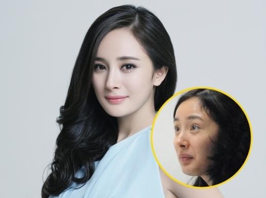 Theo nhiều người đây là hình ảnh của Dương Mịch khi đang mang thai bé Tiểu Nhu Mễ.Vì sợ ảnh hưởng đến thai nhi nên cô nàng đã ra đường mà không trang điểm kỹ lưỡng như trước.