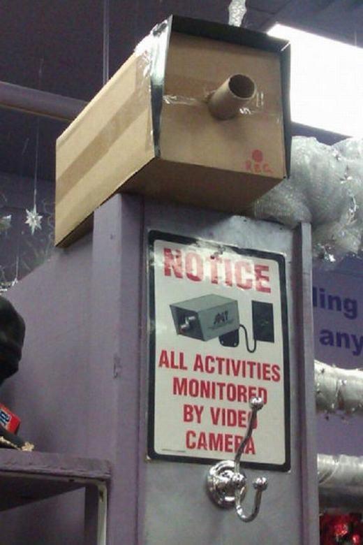 Chú ý, có camera an ninh!