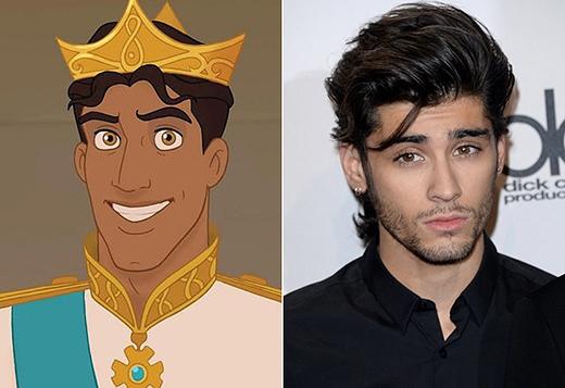 Cả hoàng tử Naveen và anh chàng điển trai Zayn Malik đều có đôi mắt hút hồn khó ai có thể cưỡng lại.