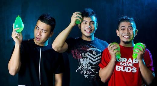 Ba chàng trai trai, 'chủ nhân' của dự án đang làm 'điên đảo' cộng đồng mạng: Nguyễn Duy, Đô Trần, Nguyễn Nam.