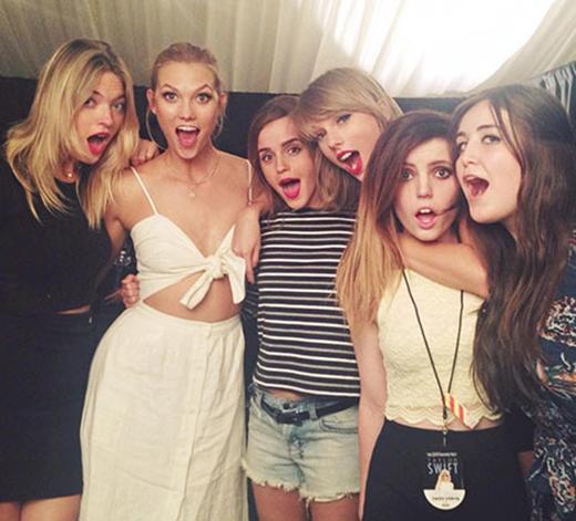 Nhóm bạn nổi tiếng của Taylor