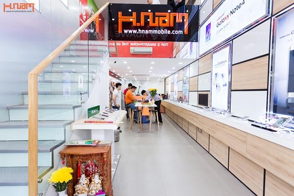 Cửa hàng Hnam Mobile 13 tại 492 Ngô Gia Tự, P.4, Q.10